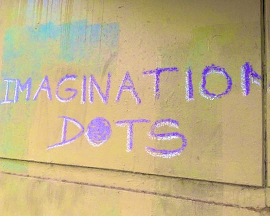 Example Long Game Meme 'Quick Chalking' Imagination DOTS